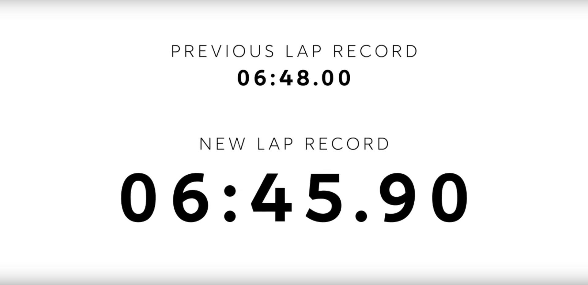 NIO EP9 Onboard Nürburgring Lap Record